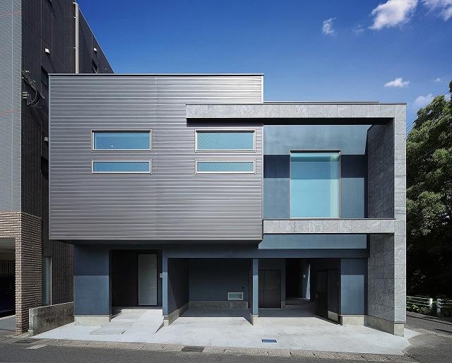 鹿児島の新築施工大空間、2階で暮らす家