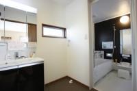 鹿児島注文住宅の施工例が豊富・鹿児島の浴室洗面例