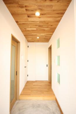 鹿児島ハウスメーカー新築玄関ハウス
