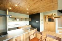 おしゃれキッチン鹿児島の新築
