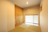 桜島の見えるおしゃれ和室