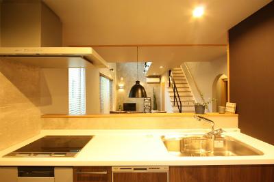 鹿児島・モデルハウス・キッチン