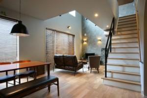 鹿児島住宅会社の新築モデルハウス内観