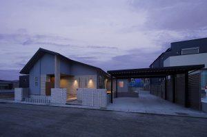 鹿児島平屋の外観家づくり