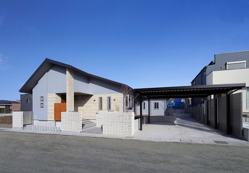 鹿児島の新築施工例平屋の家耐震住宅