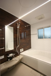 鹿児島の会社津曲工業の浴室