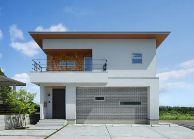 鹿児島大開口、光溢れる家新築