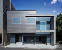 鹿児島の新築外観津曲工業