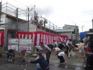 鹿児島吉野の新築で上棟式を開催