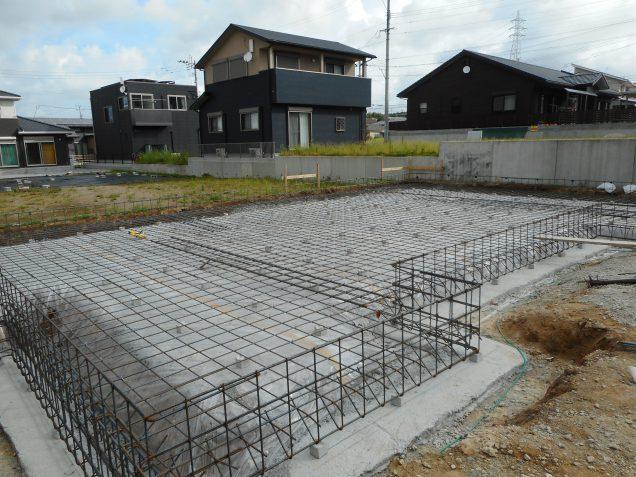 鹿児島の防湿シート施工・新築