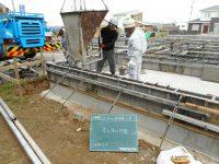 鹿児島の吉野の新築の基礎工事