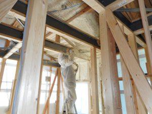 鹿児島新築建築断熱工事