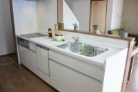 鹿児島で建てる新築の施工例キッチン