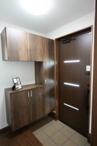 鹿児島新築値段GLAD30玄関