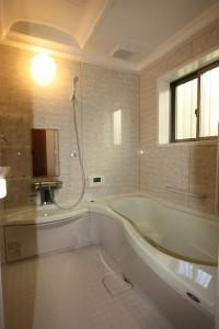 注文住宅の施工例。鹿児島浴室施工例