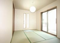 注文住宅の施工例の和室、鹿児島での注文住宅