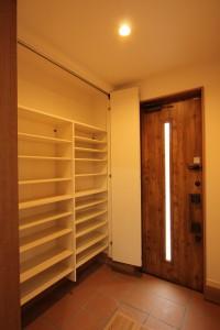 鹿児島で建てた注文住宅施工例玄関