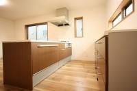 鹿児島の注文住宅キッチンの施工
