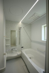 浴室施工鹿児島新築建てる