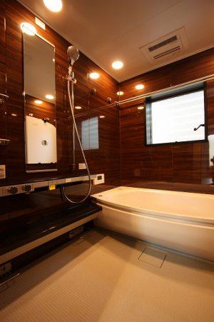浴室おしゃれ鹿児島住宅